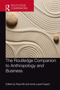Cover Routledge Companion to Anthropology and Business