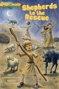 Cover Shepherds to the Rescue (Gospel Time Trekkers #1)