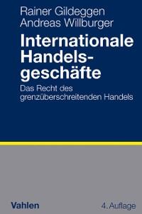 Cover Internationale Handelsgeschäfte