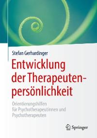 Cover Entwicklung der Therapeutenpersönlichkeit