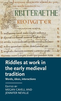 Cover Riddles at work in the early medieval tradition