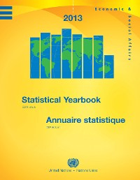Cover Statistical Yearbook 2013, Fifty-eighth Issue/Annuaire Statistique 2013, Cinquante-huitième édition