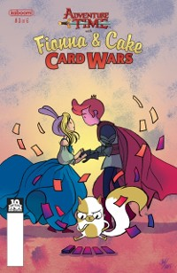 Cover Adventure Time: Fionna & Cake Card Wars #3
