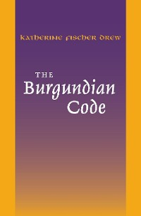 Cover The Burgundian Code