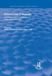 Cover Ethics Codes in Medicine