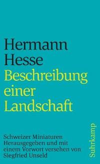 Cover Beschreibung einer Landschaft