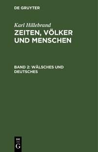 Cover Wälsches und Deutsches
