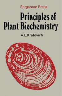 Cover Principles of Plant Biochemistry