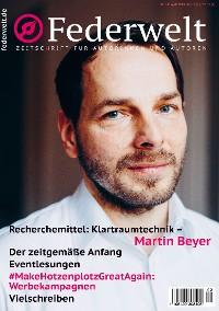 Cover Federwelt 141, 02-2020, April 2020