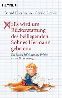 """Cover """"Es wird um Rückerstattung des beiliegenden Sohnes Hermann gebeten"""""""