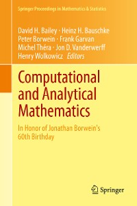 Cover Computational and Analytical Mathematics