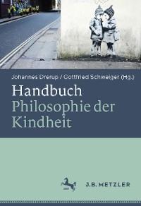 Cover Handbuch Philosophie der Kindheit