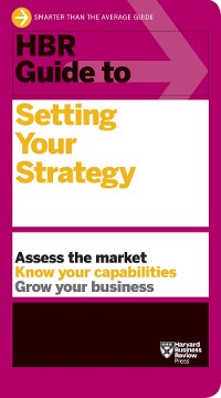 Cover HBR Guide to Setting Your Strategy