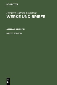 Cover Briefe 1738-1750