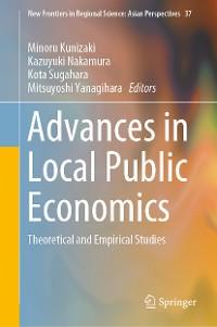 Cover Advances in Local Public Economics