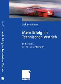 Cover Mehr Erfolg im Technischen Vertrieb