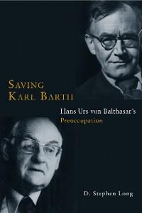Cover Saving Karl Barth