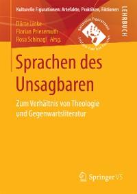 Cover Sprachen des Unsagbaren