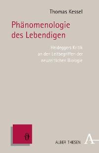 Cover Phänomenologie des Lebendigen