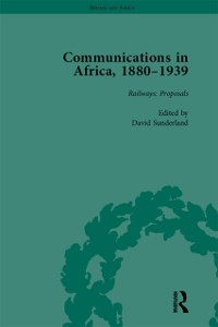 Cover Communications in Africa, 1880-1939, Volume 1