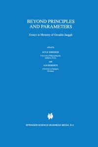 Cover Beyond Principles and Parameters