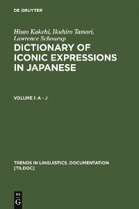 Cover Dictionary of Iconic Expressions in Japanese