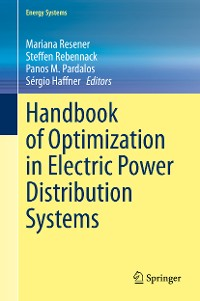 Cover Handbook of Optimization in Electric Power Distribution Systems