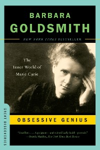 Cover Obsessive Genius: The Inner World of Marie Curie (Great Discoveries)