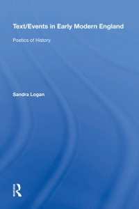 Cover Text/Events in Early Modern England