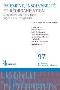 Cover Paiement, insolvabilité et réorganisation