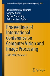 Cover Proceedings of International Conference on Computer Vision and Image Processing