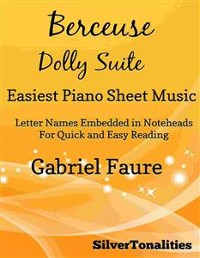 Cover Berceuse the Dolly Suite Easiest Piano Sheet Music