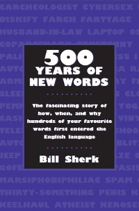 Cover 500 Years of New Words