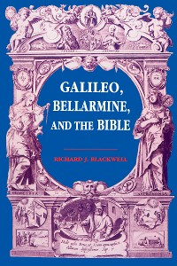 Cover Galileo, Bellarmine, and the Bible