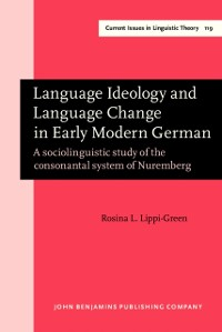 Cover Language Ideology and Language Change in Early Modern German