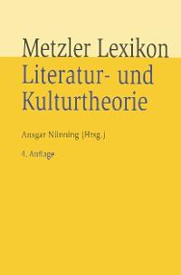 Cover Metzler Lexikon Literatur- und Kulturtheorie