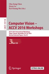 Cover Computer Vision - ACCV 2016 Workshops