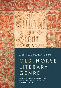 Cover A Critical Companion to Old Norse Literary Genre