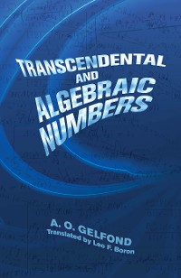 Cover Transcendental and Algebraic Numbers