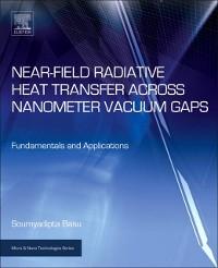 Cover Near-Field Radiative Heat Transfer across Nanometer Vacuum Gaps