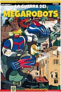 Cover La guerra dei MegaRobots