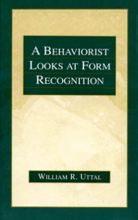 Cover Behaviorist Looks at Form Recognition