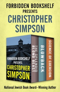 Cover Forbidden Bookshelf Presents Christopher Simpson