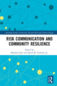Cover Risk Communication and Community Resilience