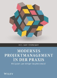 Cover Modernes Projektmanagement in der Praxis