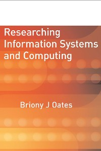Cover Researching Information Systems and Computing