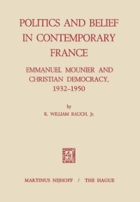 Cover Politics and Belief in Contemporary France