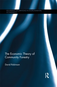 Cover Economic Theory of Community Forestry