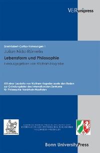 Cover Lebensform und Philosophie