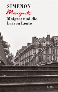 Cover Maigret und die braven Leute